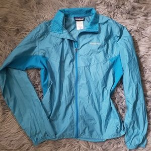 Patagonia Nylon Rain Coat Reflective Jacket Zip